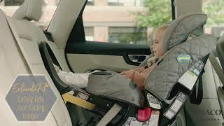 Graco® Premier 4Ever® DLX Extend2Fit® 4-in-1 Car Seat Ft. Anti-Rebound Bar, Savoy Collection