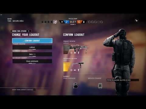 Tom Clancy's Rainbow Six  Siege with john thanks for that flash