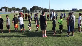 Buda Youth Sports Association Football Camp