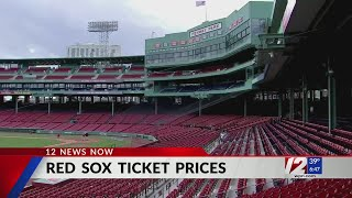 Ticket Prices Increase For 2021 Red Sox Season Youtube