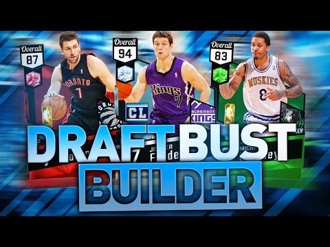 THE BIGGEST NBA DRAFT BUSTS OF ALL TIME! NBA 2K17 SQUAD BUILDER