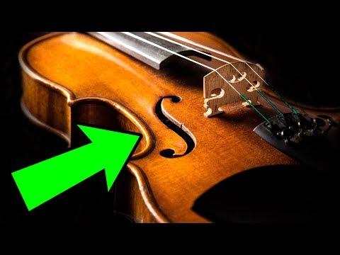 Как выглядит скрипка страдивари