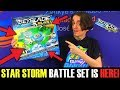 BEYBLADE BURST EVOLUTION STAR STORM BATTLE SET UNBOXING REVIEW