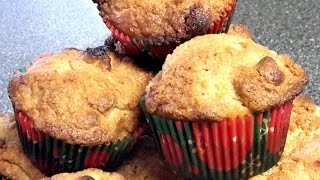 Whole Wheat Peach Muffins