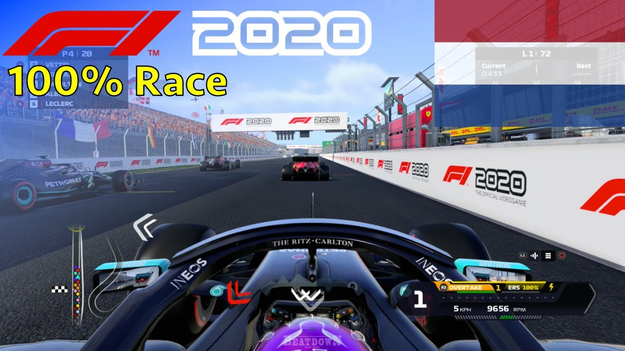 F1 2020 - Let's Make Hamilton 7x World Champion #5: 100% Race Zandvoort