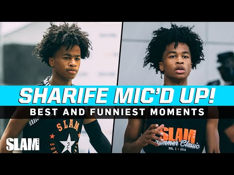 Sharife Cooper's Mic'd Up Highlights‼️ The Best and Funniest Moments 🔥🎤