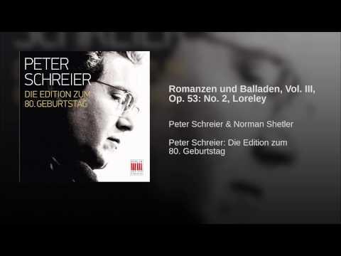Romanzen und Balladen, Vol. III, Op. 53: No. 2, Loreley