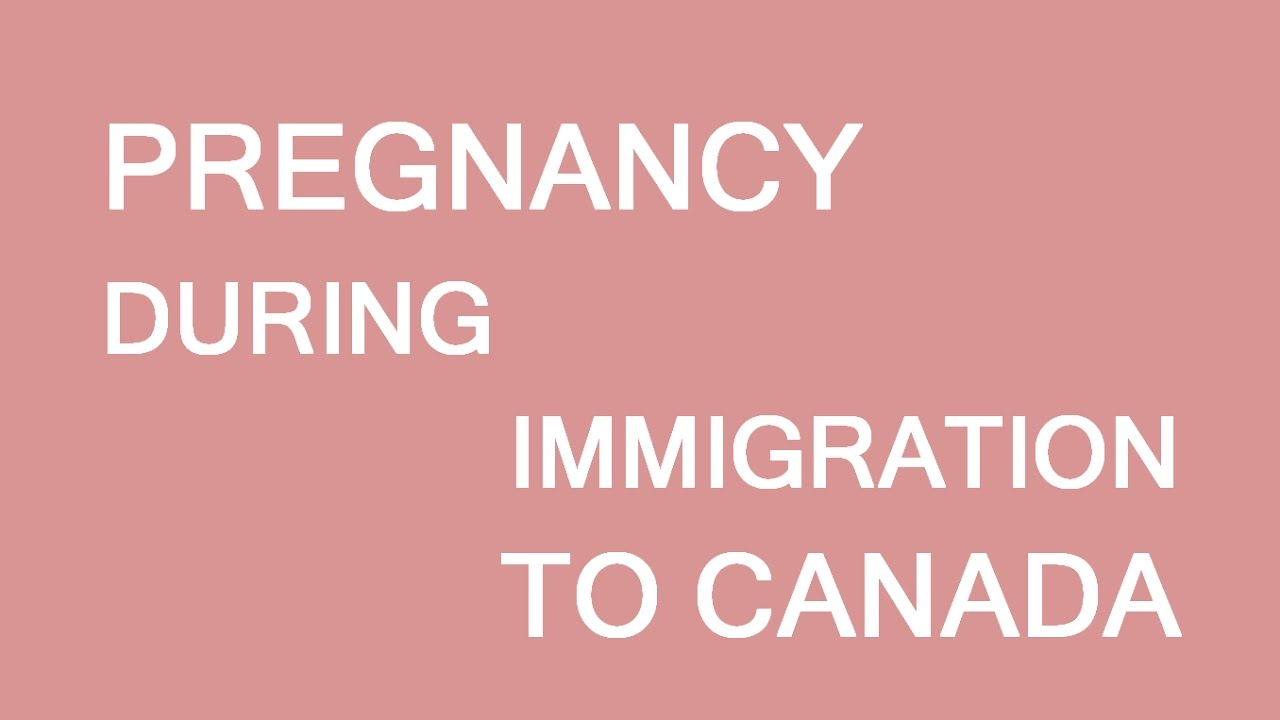 Pregnancy during immigration process  LP Group Canada