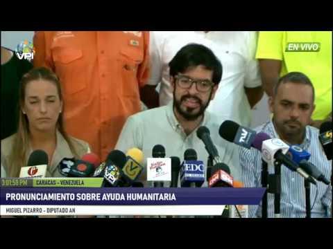 Venezuela - Pronunciamiento de Voluntad Popular sobre la ayuda humanitaria - VPItv