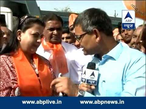LK Advani's daughter Pratibha Advani campaigns for her father
