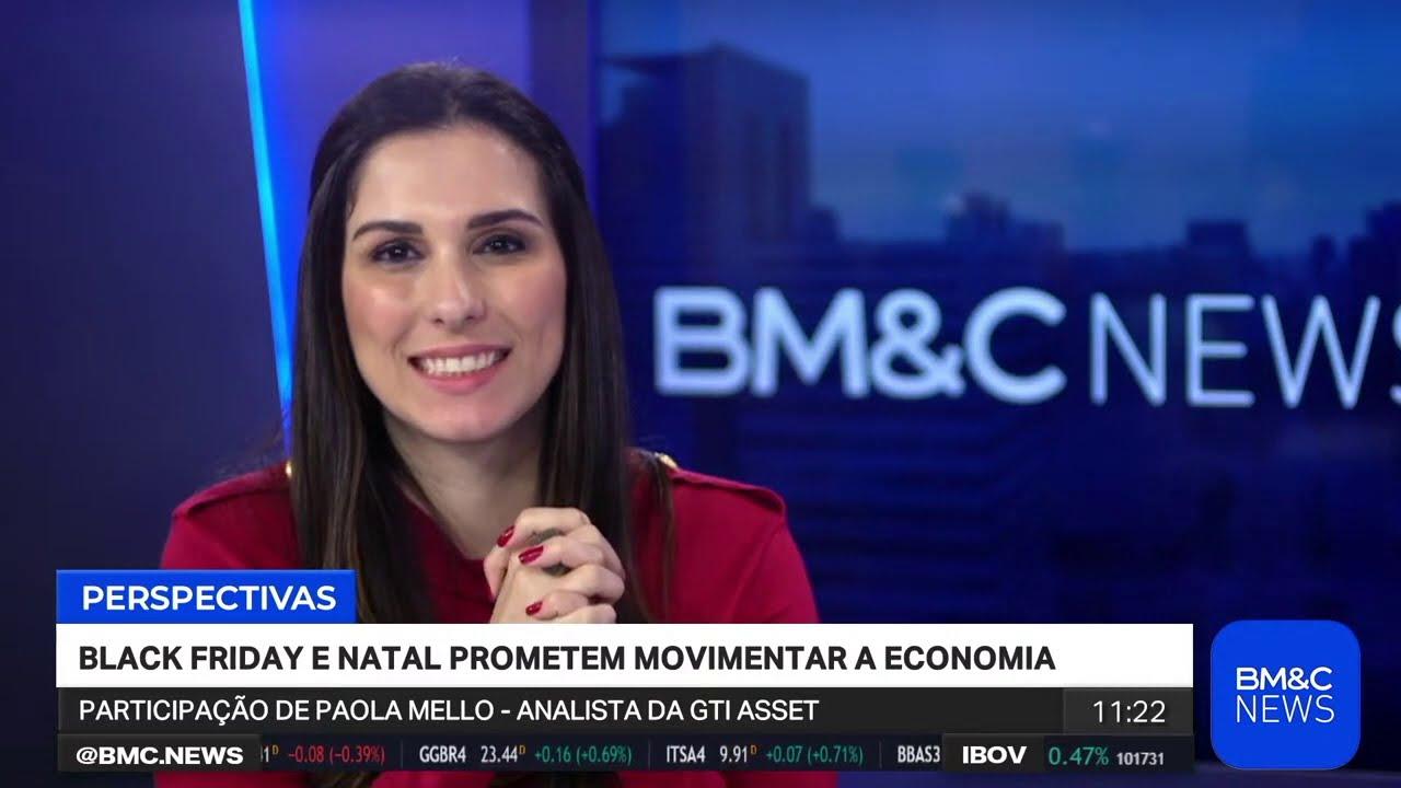 Paola Mello fala sobre vendas na Black Friday na BM&C News