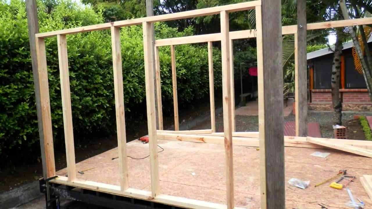 Outdoor playhouse step by step youtube for How to make a house step by step