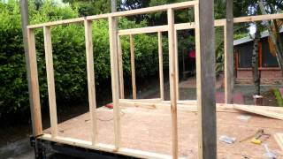 Outdoor Playhouse, step by step