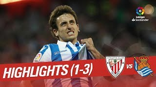 Resumen de Athletic Club vs Real Sociedad (1-3)