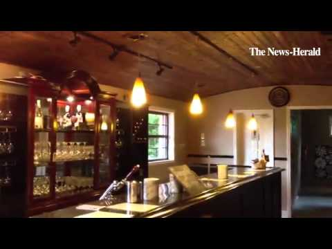 A peek inside Sharon James Cellars winery in Newbury Township. & A peek inside Sharon James Cellars winery in Newbury Township. - YouTube