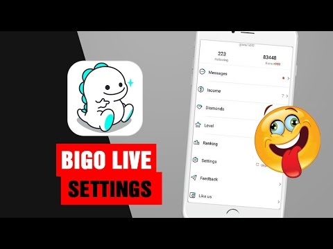 BIGO LIVE - Settings