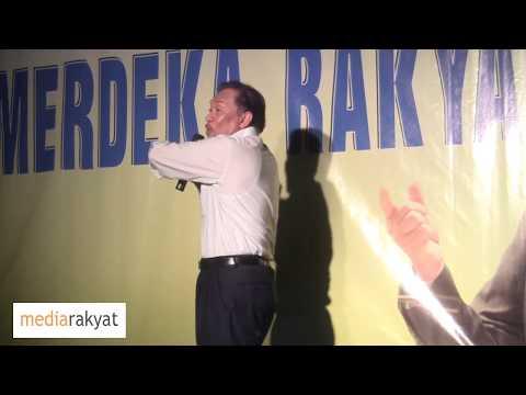 Anwar Ibrahim: Ceramah Merdeka Rakyat Di Kuching (Part 1/2)