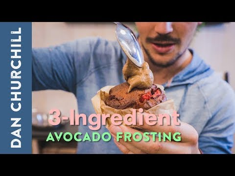 3-Ingredient Chocolate-Avocado Frosting