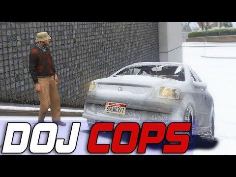 Dept. of Justice Cops #602 - Slippery When Frozen