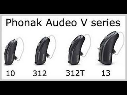 Digital Hearing Aids >> Phonak Audeo V - cleaning - YouTube