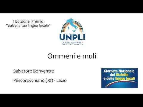 Ommeni e muli - Salvatore Bonventre -...