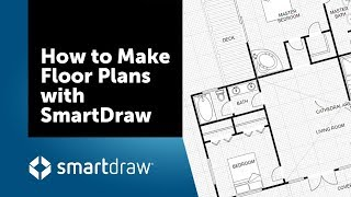 How To Draw A Floor Plan With SmartDraw - Create Floor Plans With Dimensions