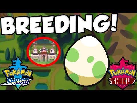 Breeding Is Back In Pokemon Sword And Shield Pokemon Gen 8 Breeding