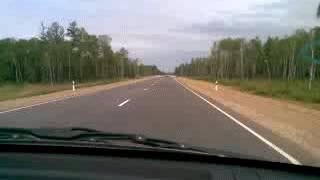 перегон Nissan Cube в 2008 году