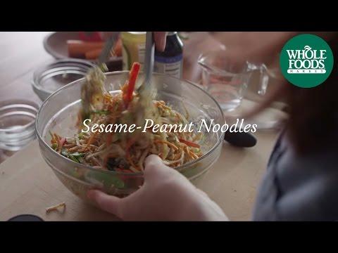 Homemade Healthy Recipe   Sesame-Peanut Noodles   Whole Foods Market