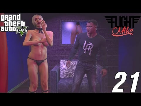 Grand Theft Auto 5 PS4 Gameplay Walkthrough | Ep 21: STRIP CLUB!!