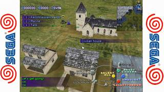 Conflict Zone - SEGA Dreamcast Gameplay Sample - Redream Emulator