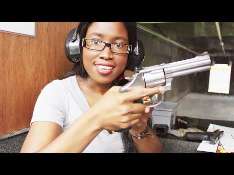 Girl Power  Glock 17, Smith & Wesson 686, Remington 870  PISTOL, REVOLVER, SHOTGUN