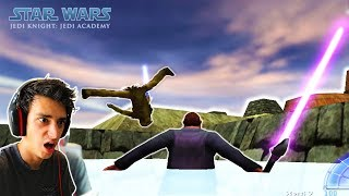THE BEST STAR WARS GAME EVER MADE! (Jedi Academy)