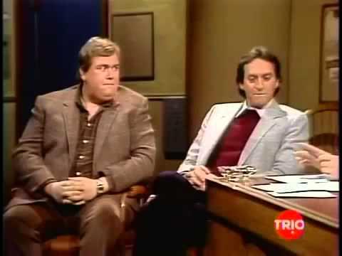 02041982 Letterman John Candy, Joe Flaherty,