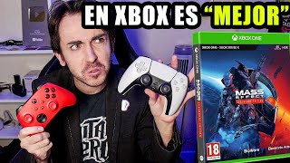 MASS EFFECT corre EL DOBLE de mejor en Xbox Series X que en PS5 (Legendary Edition)