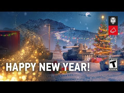 Victor Kislyi And WoT Developers' New Year's Greetings