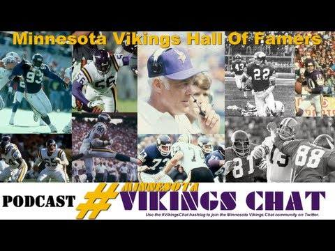 Minnesota Vikings Hall Of Famers