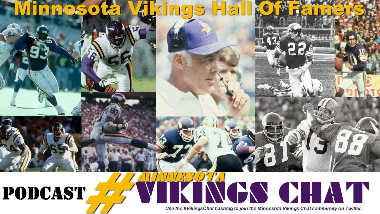7bd3c050 Minnesota Vikings Hall Of Famers