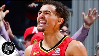 Rachel Nichols, Brian Windhorst and Tracy McGrady of The Jump discuss the promising future of the Atlanta Hawks, with Trae Young and John Collins leading ...