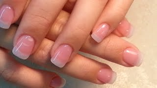 Nature Look Acrylic Fingers Nails.