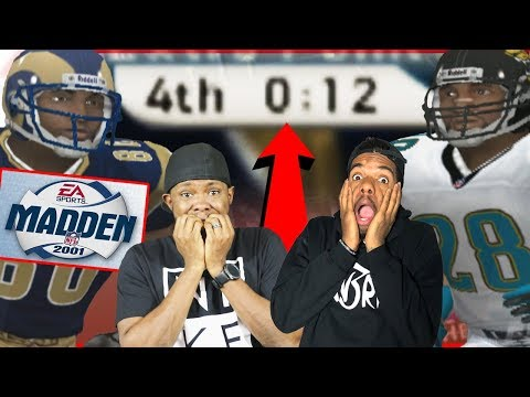 DOWN TO THE WIRE! WHY HE SO ANGRY?! - Madden 01 Gameplay | #