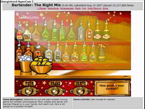 Bartender The Right Mix