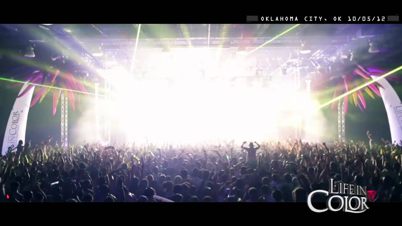 Life In Color Live Clip - Oklahoma City, OK - E.N.D Tour - 10/05/12 -