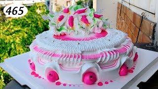 chocolate cake decorating (465) Làm Bánh Kem Đơn Giản Đẹp (465)