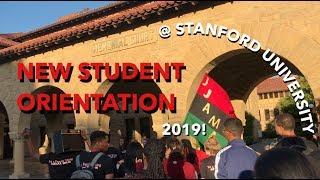 COLLEGE ORIENTATION VLOG 2019  STANFORD UNIVERSITY