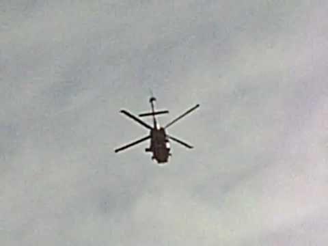 Sikorsky SH-60B Seahawk flies over my house