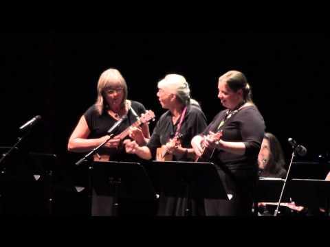 Boogie Woogie Bugle Boy - Rocky Mountain Ukulele Orchestra Trio