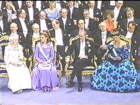 The royal family at the Nobel Prize in 1997