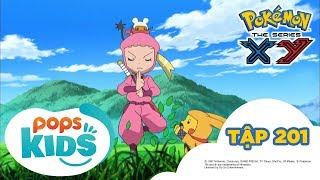 Pokémon Tập 201 - Keromatsu Đấu Với Gekogashira! Trận chiến Ninja! - Hoạt Hình Pokémon S17 XY
