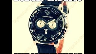 fake armani watch from budget gadgets